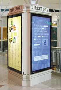 Mall Advertising Smartlite The Leader In Backlit Mall